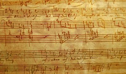 Antique Hand Written Music
