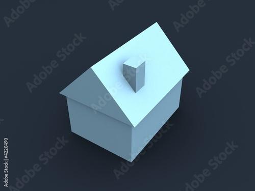 einfaches haus stockfotos und lizenzfreie bilder auf bild 4220490. Black Bedroom Furniture Sets. Home Design Ideas