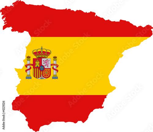 drapeau espagnol - Drapeau Espagnol A Imprimer