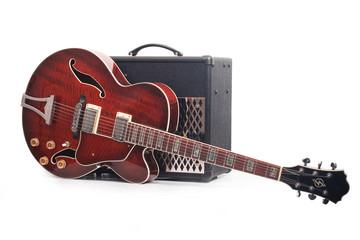 Red guitar 2