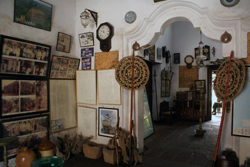 Inside museum, Galle