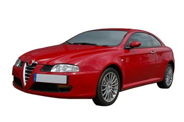Wall Mural - VOITURE COUPE ITALIENNE