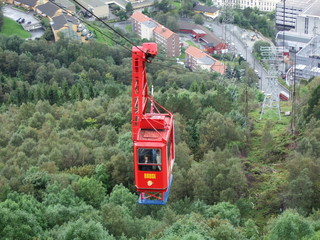 Cable Car to mountain peak