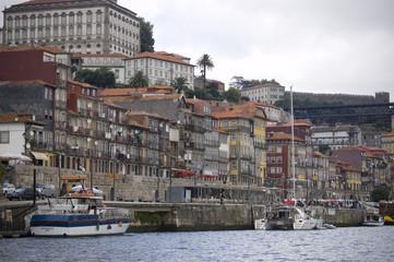 Porto view from the river douro. Porto, Portugal