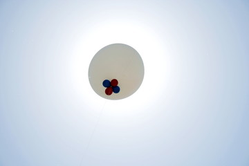 Sun and balloon