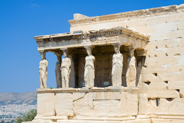Caryatids at the Erechtheion, Acropolis, Athens