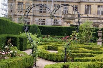 shape of heart. garden. garden design