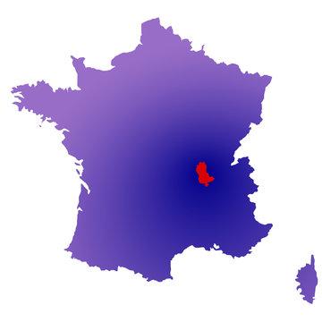 Rhône en France