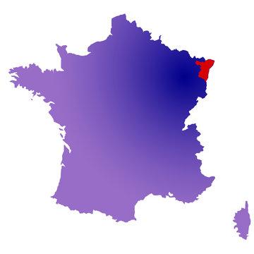 Bas-Rhin en France