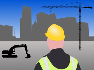Minneapolis construction site