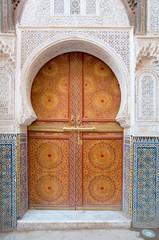Moroccan door