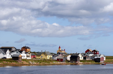 Vadsø, Finnmark, north-eastern Norway, by the Barents Sea