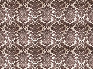 old vintage silk pattern