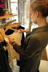 Woman's shopping
