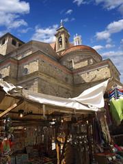medici chapels markt platz in florenz