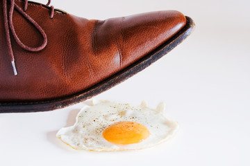 Chaussure glissante