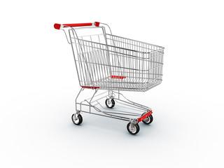 cart shopping, supermarket basket