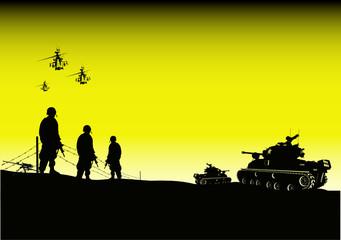GI de l'armée des etats unis en irak