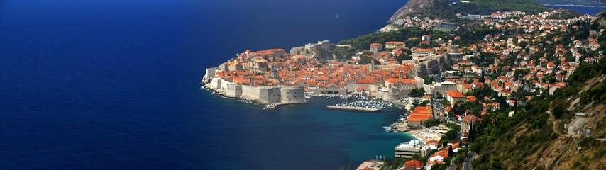 Foto op Plexiglas Nice Dubrovnik von oben 20