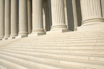 US Supreme Court - Steps and Columns
