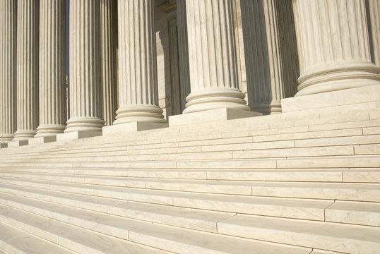 US Supreme Court - Steps and Columns