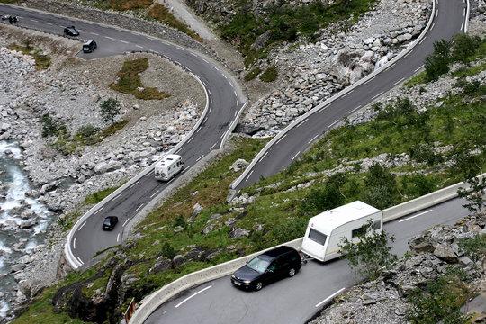 Norwegian Troll's Road
