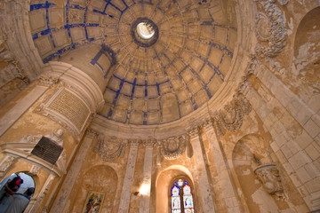 chapel in Cordouan Lighthouse, France
