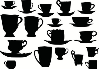 cup silhouettes collection