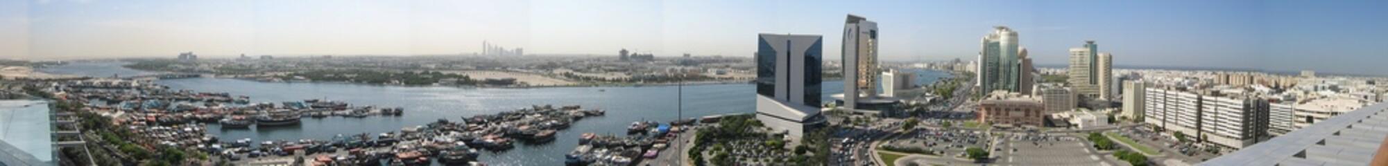 Panoramabild Dubai