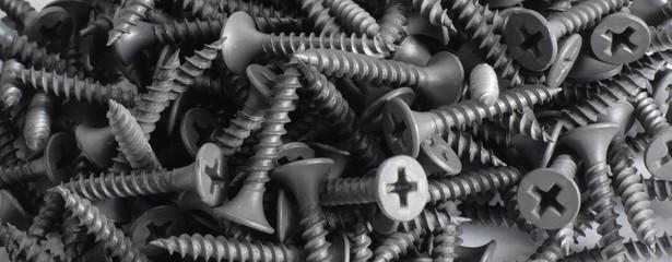 Grey screws