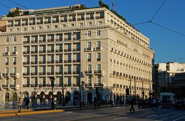 Grande Bretagne Hotel in Athens, Syntagma Square