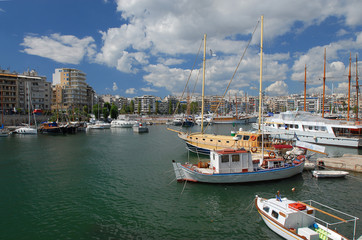 The Zea marine in Piraeus