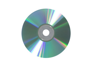 disk isolated on white
