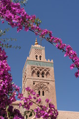 Koutoubia minaret in Marrakesh