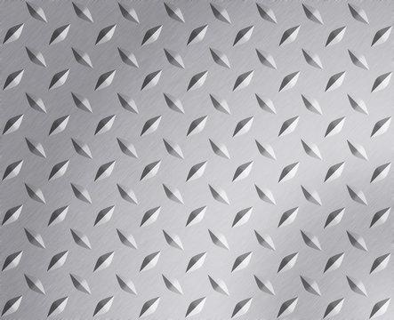 Plate metal texture