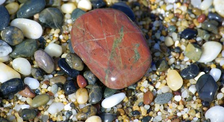 colored rocks and pebbles 5