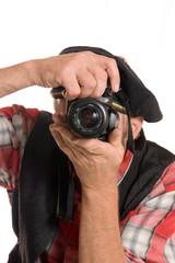 Successful Press photographer