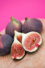 Sliced figs