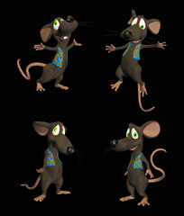 Cartoon Mouse- pack1b