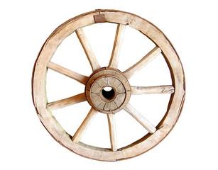 Vintage wheel.