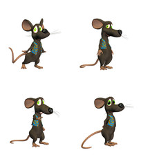 Cartoon Mouse- pack2