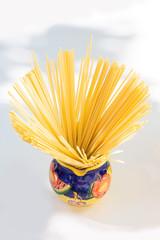 Spaghetti in a jug