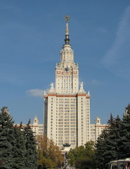 Main building of the Moscow State University