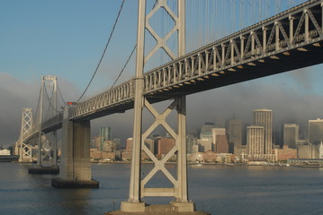 Ships View of the Bay Bridge
