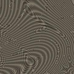 Wavy metallic surface