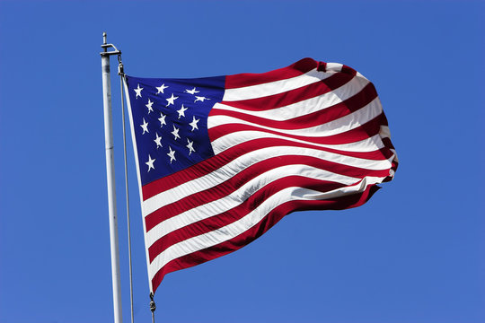 1800's US flag