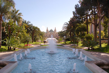 Monte Carlo fountains