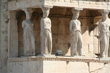 Statue in Acropoli