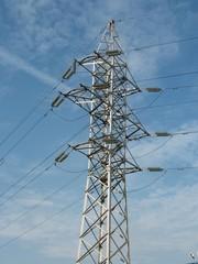 Electricity vertical light