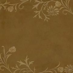 Background Floral Edges
